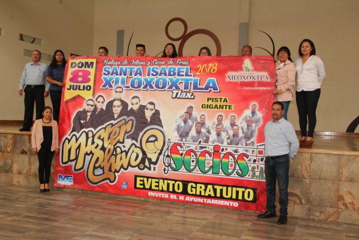 Alcalde alista la feria del Elote Xiloxoxtla 2018 del 29 de junio al 8 de julio