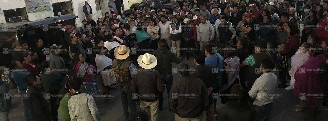 Cerrada la presidencia de San Isidro Buensuceso hasta que haya cuentas claras