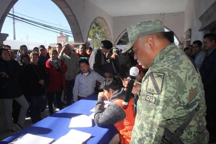 Alcalde garantiza la legalidad del Sorteo del Servicio Militar clase 1999