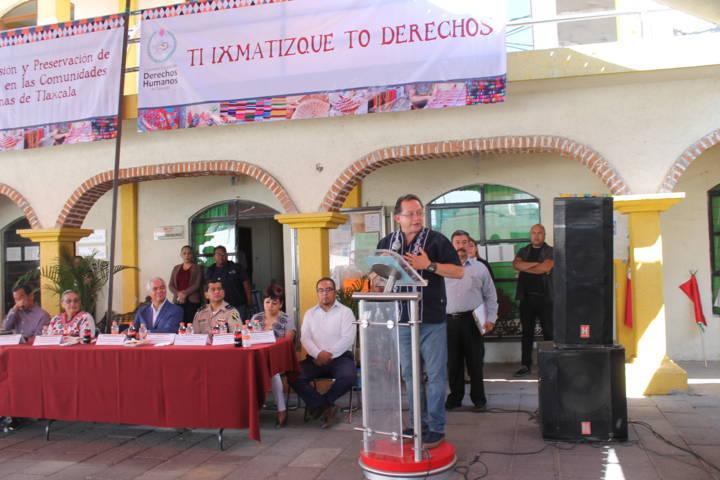 La CEDH preserva los derechos humanos en los pueblos indígenas: VMCPP
