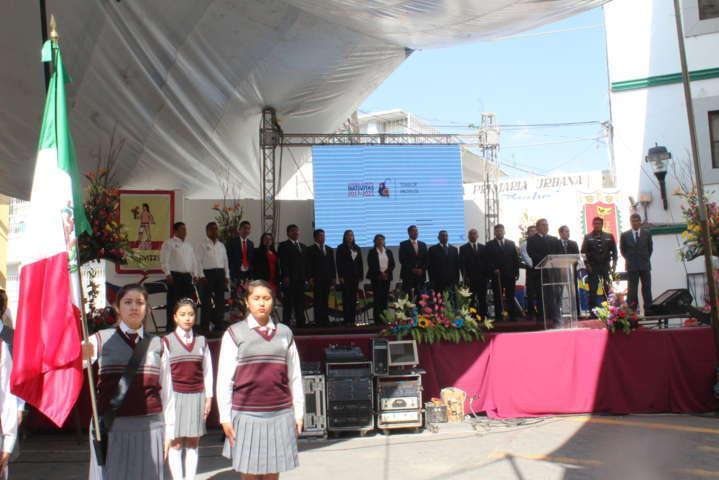 Oscar Murias Juárez rinde protesta como alcalde de Nativitas