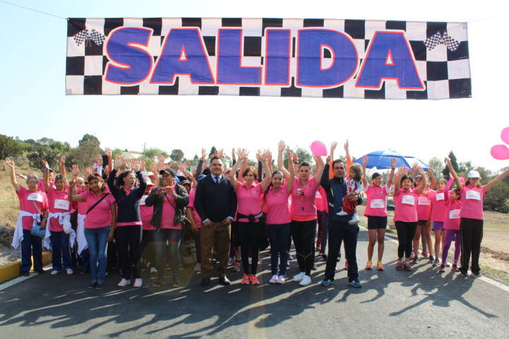 Se conmemora en Tetla el Día Internacional de la Mujer