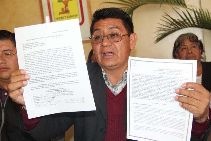 Ayuntamiento desconoce a su síndico por buscar desestabilizar el municipio