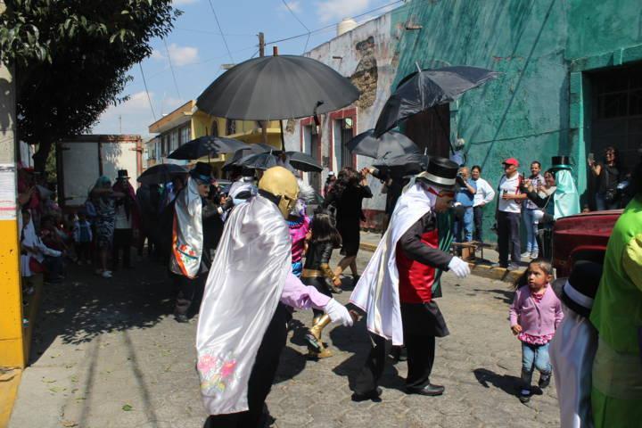 Finaliza carnaval Santa Cruz Tlaxcala 2018 con la Octava