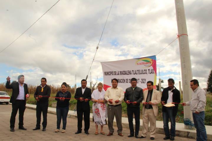 Una comunidad con energía eléctrica mejora su seguridad: Pluma Morales
