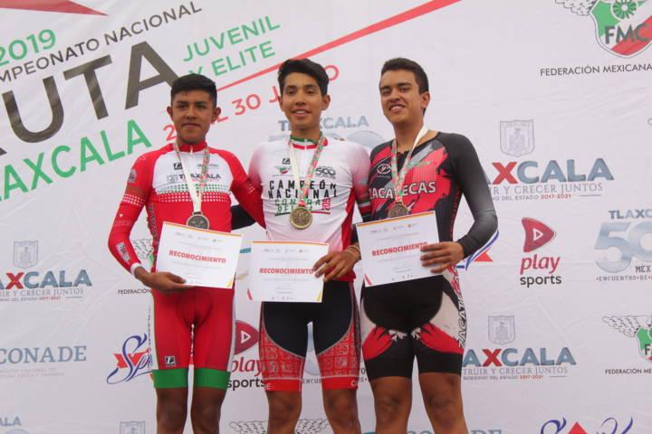 Ricardo Ramírez gana plata para Tlaxcala en Nacional de Ciclismo