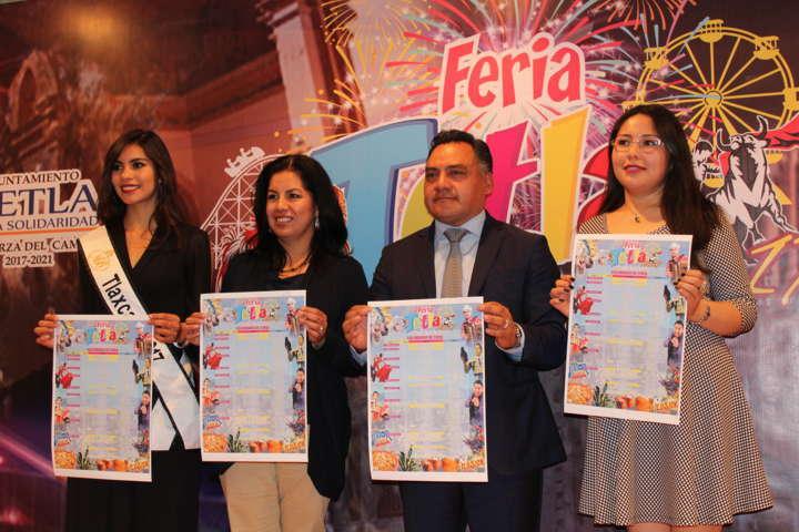 Tetla de la Solidaridad presenta cartel de Feria en su edición 2017
