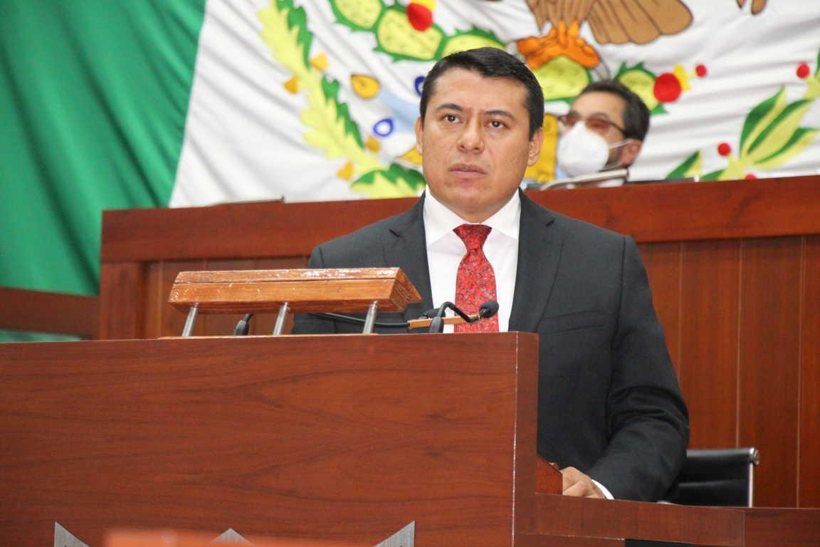 Ratifican Congreso del Estado a Rubén Terán como presidente de la JCCP