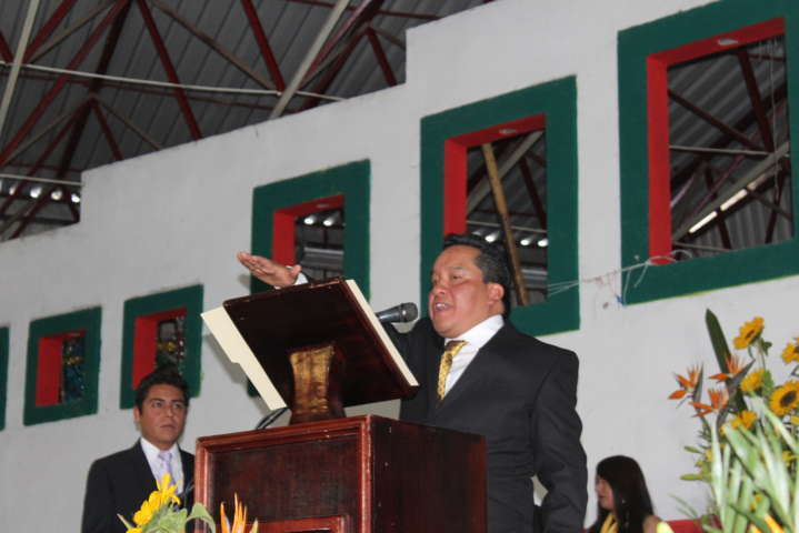 Xaloztoc ya tiene presidente: Mario López