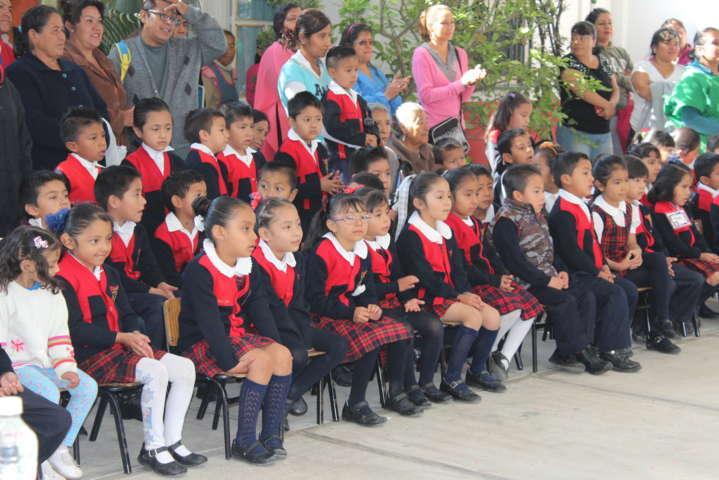 El jardín de niños Josefa Ortiz de Domínguez contara con techumbre: alcalde