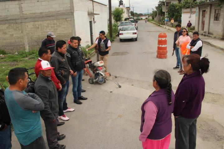 Ayuntamiento mejora la imagen urbana con programa de bacheo en 10 calles
