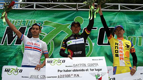 Pasa por Huamantla la  Vuelta México en su edición 2015