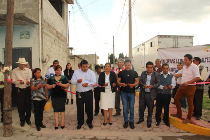Mi compromiso con vecinos de la Pantitlán esta cumplido Pluma Morales