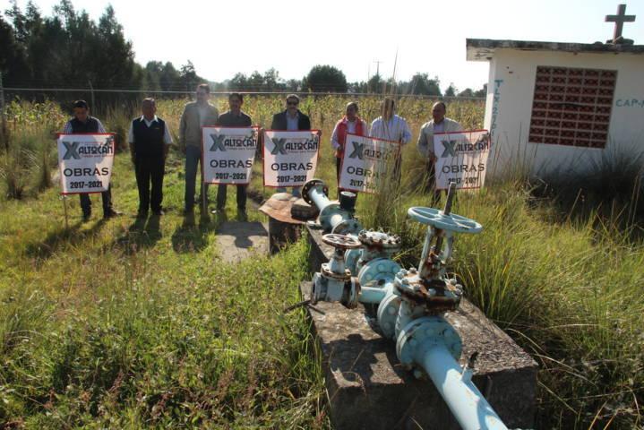 Alcalde rehabilita pozo de agua en San Simón que tenía más de 15 años sin funcionar
