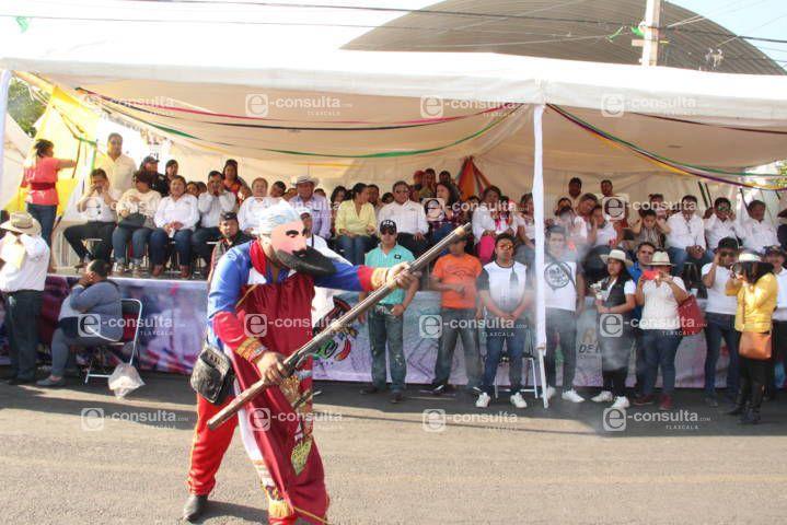 Espectacular remate de carnaval se vivió en Totolac