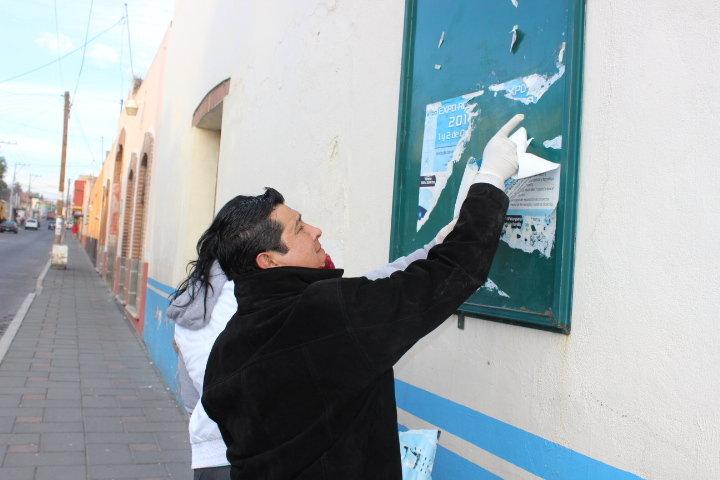Ayuntamiento de Huamantla continúa realizando trabajos públicos para limpiar la Ciudad