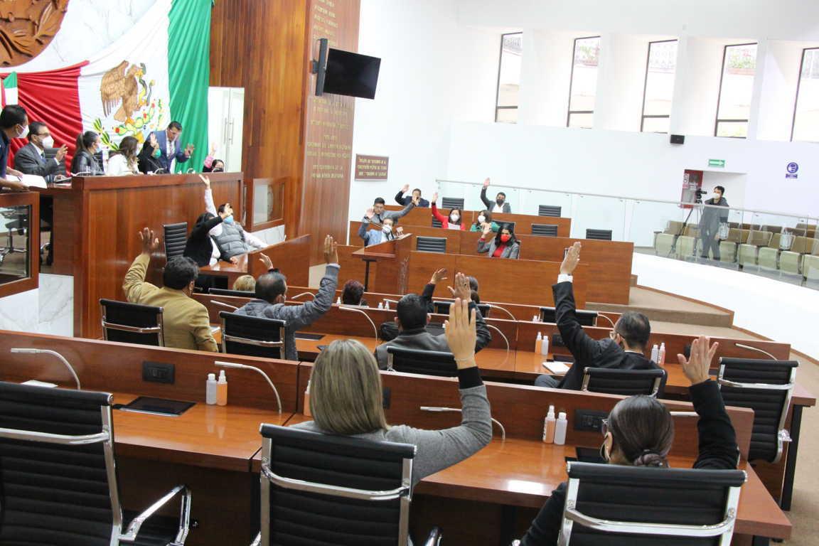 Aprueba Congreso del Estado programa legislativo para el primer periodo de sesiones