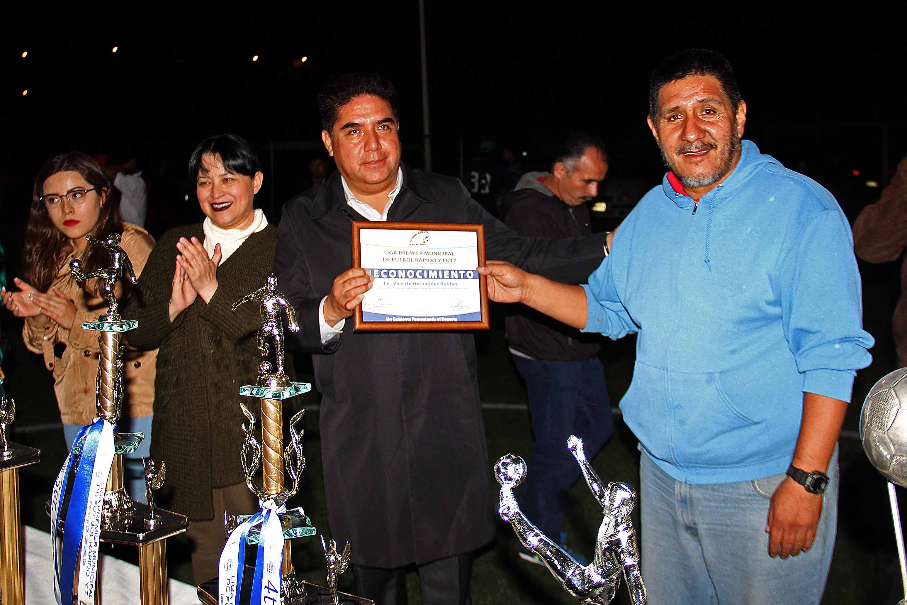 "Culmina en Calpulalpan Torneo Municipal de Futbol 7 ""Premiere"""