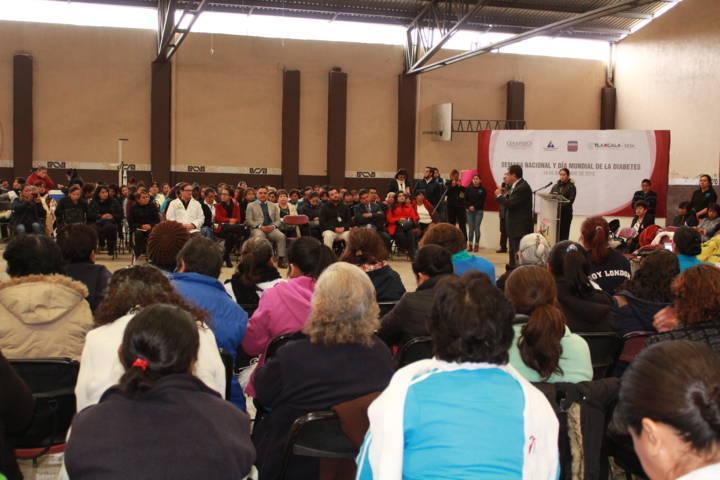 Tetla De La Solidaridad, sede del Dia Mundial De Diabetes