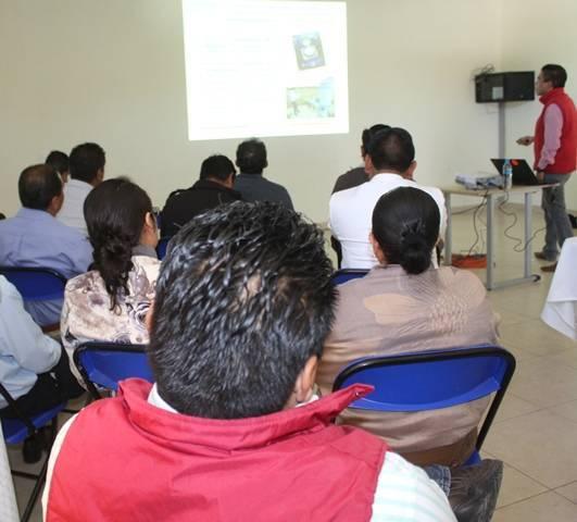 Autoridades de Lardizábal reciben capacitación en el tema de normatividad de aguas nacionales