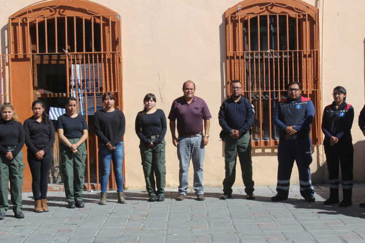 Jóvenes de Construyendo el Futuro llegan a Protección Civil municipal