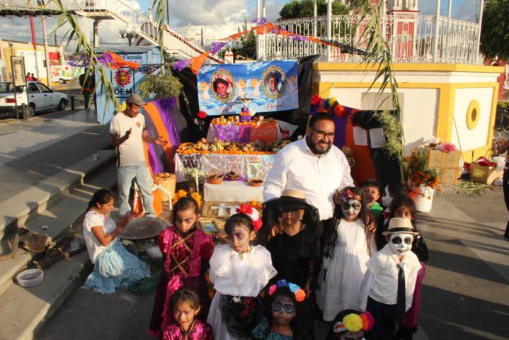 Con estas ofrendas fomentamos las costumbres y tradiciones: Badillo Jaramillo