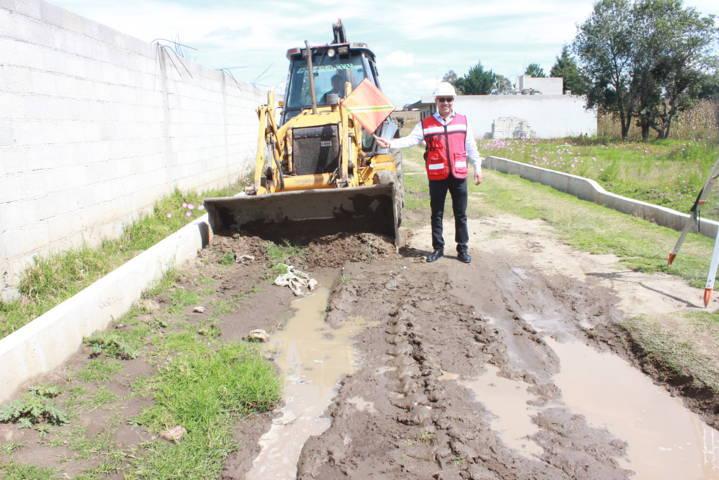 Alcalde mejora infraestructura educativa del CBTIS 03 extensión Xiloxoxtla