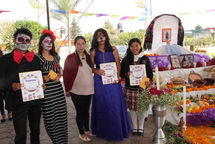 Ayuntamiento fortalece tradiciones de Día de Muertos con concurso de ofrendas