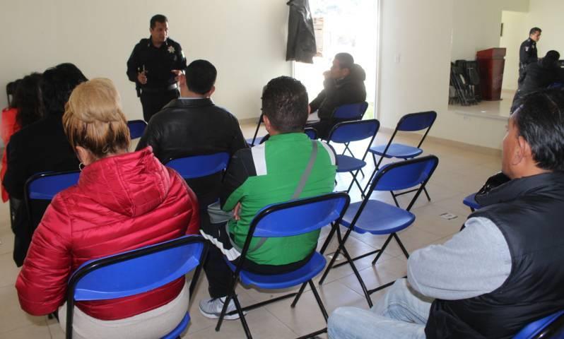 Seguridad Pública de Lardizábal establece comunicación directa con instituciones educativas