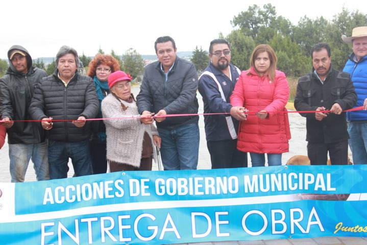 Con más calles pavimentadas traemos el desarrollo al municipio: alcalde