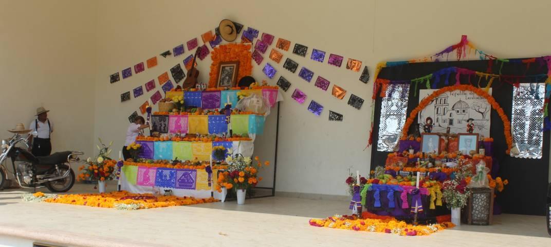 Gobierno de Lardizábal lleva a cabo exhibición de ofrendas