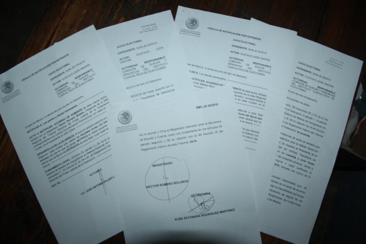 Corral Mier compró el voto a autoridades eclesiásticas de Tlaltelulco