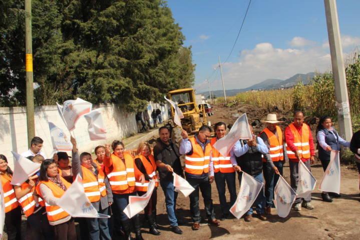 Alcalde continúa realizando obras que mejoran la calidad de vida