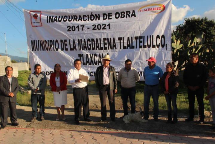 Rubén si tiene palabra y cumple lo que promete: vecinos de la 16 de septiembre