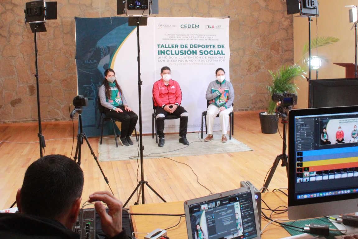 Finalizan IDET y CONADE Taller de Deporte de Inclusión Social