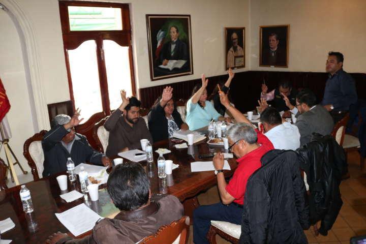 Integran Chiautempan  Consejo de Honor y Justicia