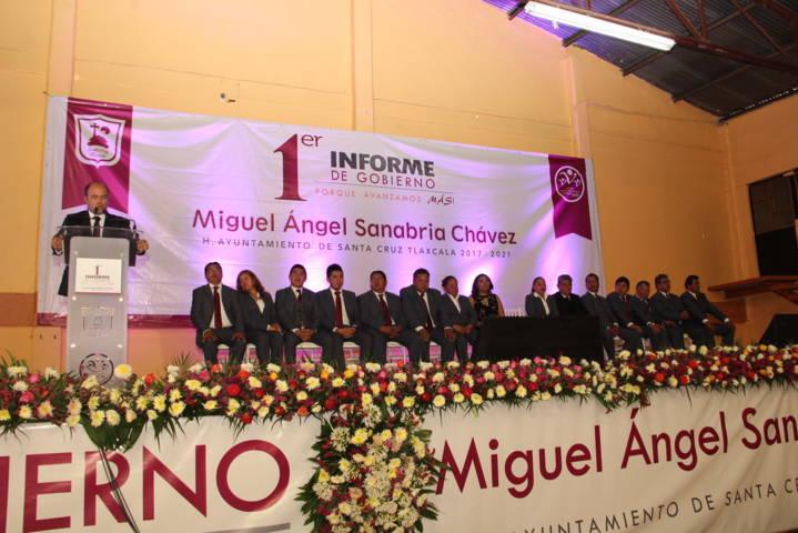 Prometí obra pública y lo estoy cumpliendo: Sanabria Chávez