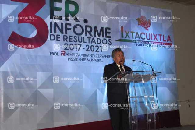 Con acciones concretas hemos impulsado el desarrollo de Ixtacuixtla: alcalde