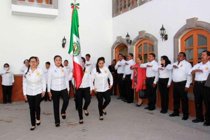 """Texóloc conmemora el """"Día de la Bandera"""""""