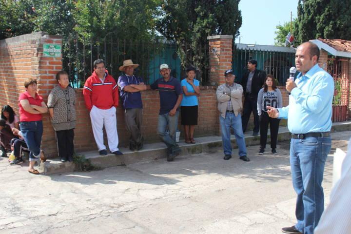 Sanabria Chávez inicia trabajos de pavimentación en la Nicolás Bravo por 1.5 mdp