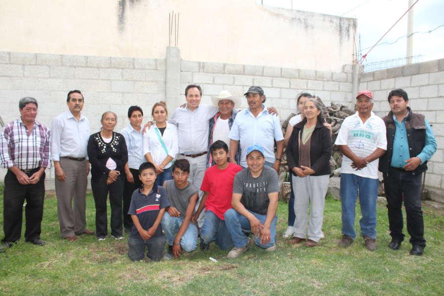 Reconocen en comunidades trabajo de Barranco Palacio