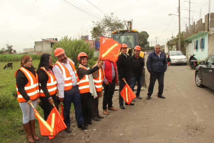 Calle Cuahutemoc mejora su imagen con inversión federal