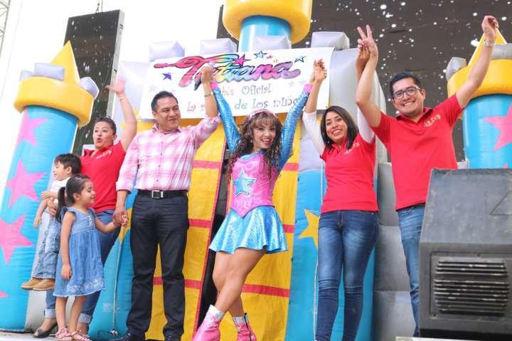 Exitoso festejo del Día del Niño y la Niña en Chiautempan