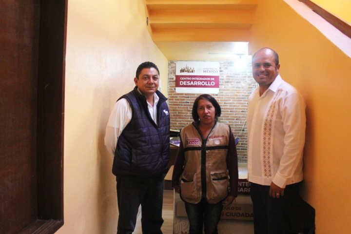 Ayuntamiento de Santa Cruz Tlaxcala instaura un centro integrador de desarrollo