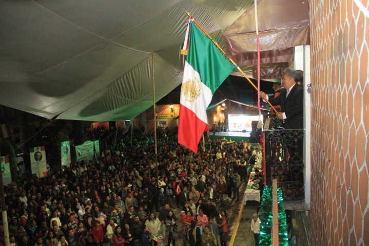 Zambrano Cervantes encabezó el Grito de Independencia de México