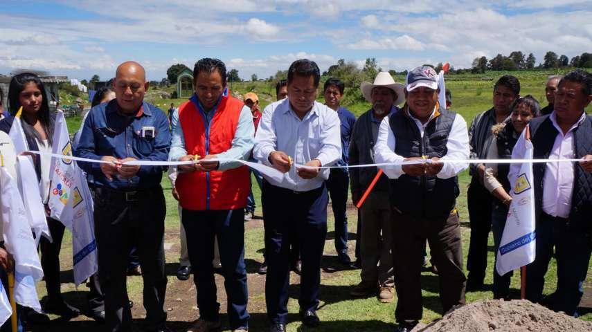 Amplían red electrica de pueblos indígenas en San Pablo del Monte