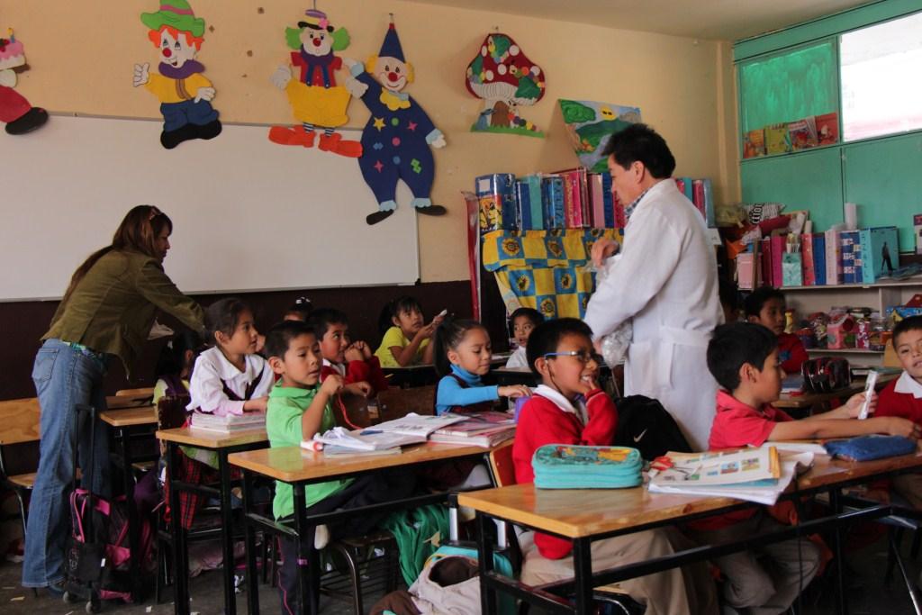 Primera etapá de la Feria de la Nutrición se puso en práctica en escuelas primarias de Contla
