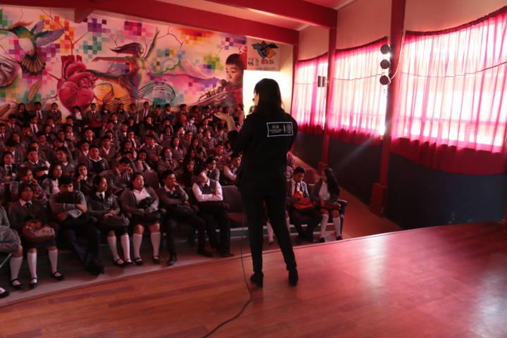 FGR realiza conferencias en San Francisco Tetlanohcan