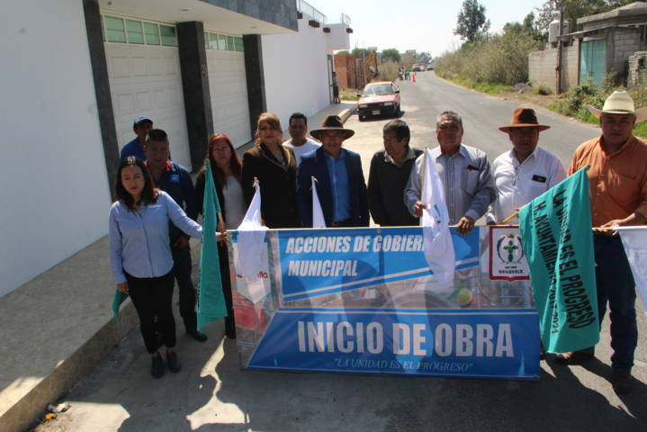 Pérez Rojas enfrenta el rezago social con obras de servicio básico