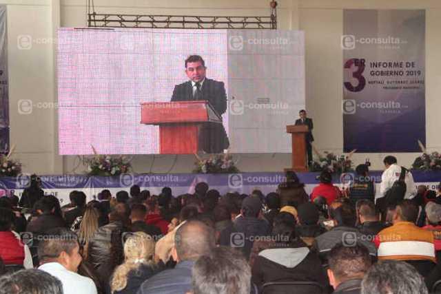 Con 110 obras y acciones impulsamos el desarrollo de Calpulalpan: alcalde